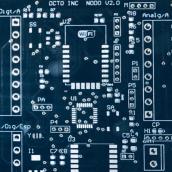 Placa de un sensor