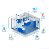 Ilustración del funcionamiento del sistema de seguridad Octo INC.