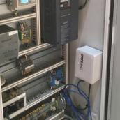 Sensor de corriente en planta